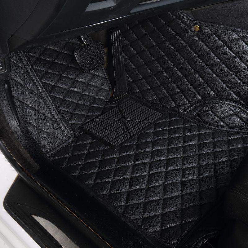 Auto Glauben auto boden matte Für ford fusion fiesta mk7 s-max ranger explorer 5 Mondeo kuga Rand zubehör wasserdicht teppich teppiche