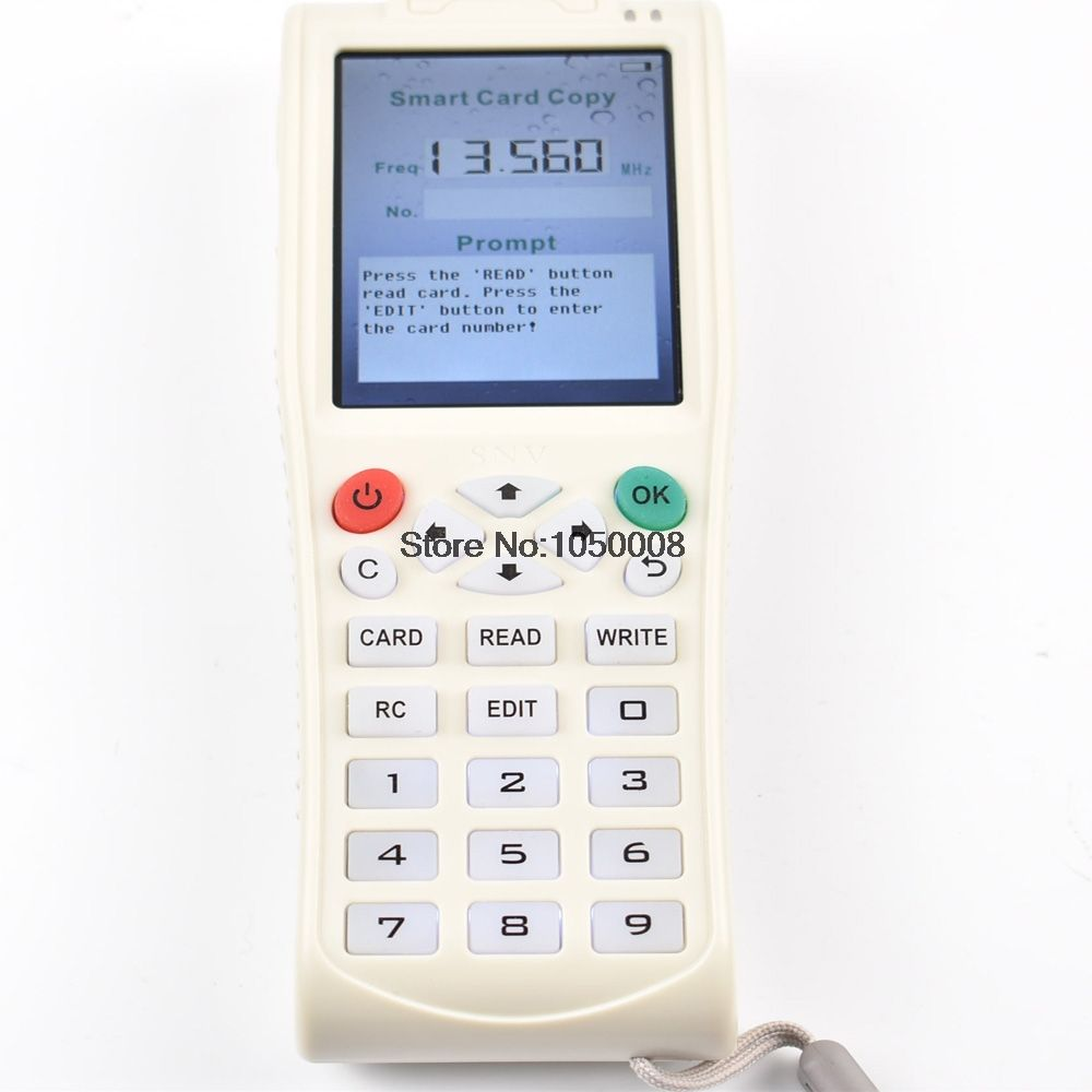 English Version Newest iCopy 3 with Full Decode Function Smart Card Key Machine RFID NFC Copier IC/ID Reader/Writer Duplicator