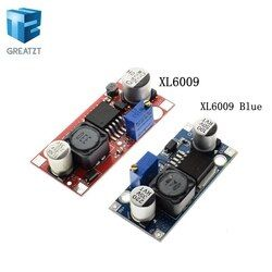 XL6009 Boost Converter Step Up Adjustable 15W 5-32V to 5-50V DC-DC Power Supply Module High Performance Low Ripple LM2577