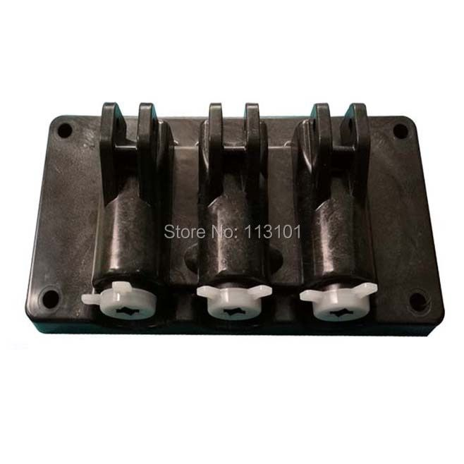 New Front Block Panel Spare Parts of XQ / ICM /BQL Soft Ice Cream Machines Replacement with 3 pcs Handles