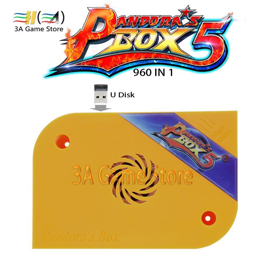 Neue Pandora Box 5 Arcade Version der Pandora Box 5 960 in 1 jamma multi arcade game platine Für controle arcade maschine konsole