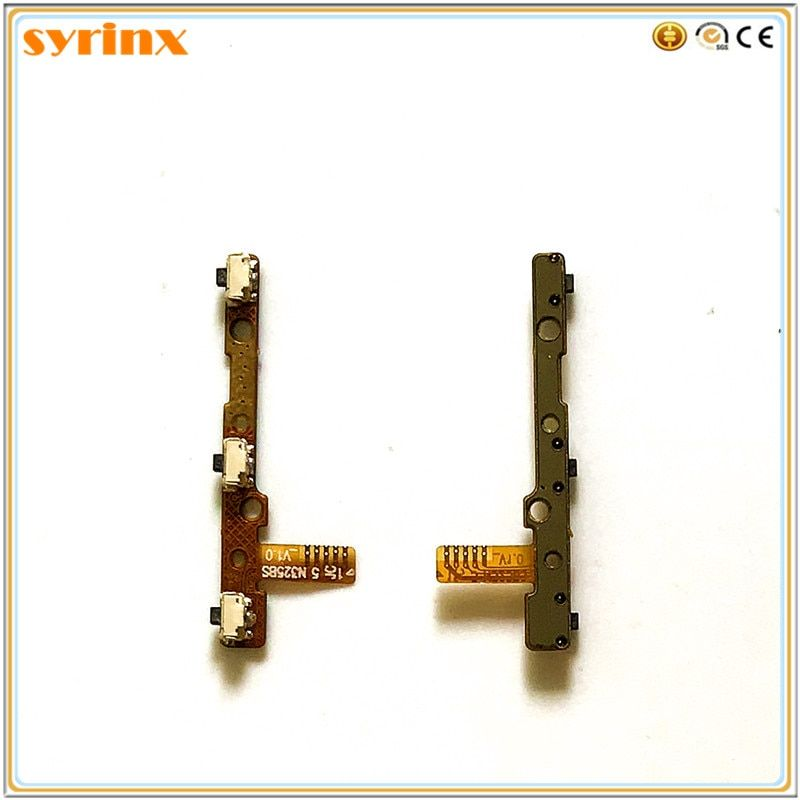 Syrinx Flex Cable Power Button FPC Start + Volume On / Off Flex Cable FPC Parts For UMI ROME X