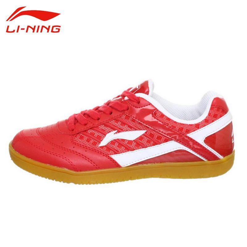 LI-NING Women Table Tennis Shoes Li Ning Support Hard-Wearing Anti-Slippery Sweat-Absorbant.Breathable Balance Sneakers APTH002