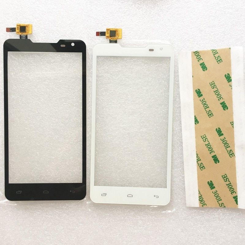 Black Sensor For Prestigio MultiPhone PAP 5044 PAP5044 Duo Touch Screen Digitizer Glass Panel Free Shipping + 3M