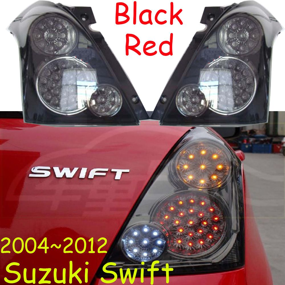 Suzukl Swift taillight,LED,2004~2012year,Free ship!Aerio,Ciaz,Reno,kizashi,s-cross,samurai,Forenza,Equator,Swift rear lamp