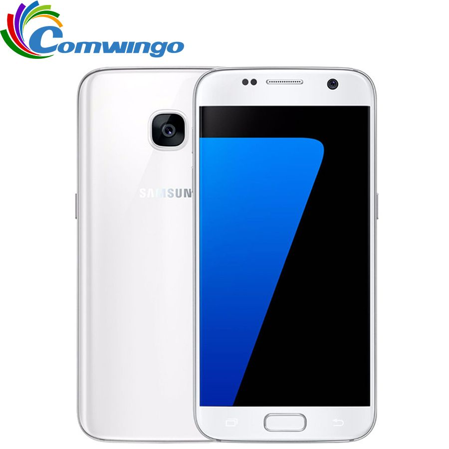Original Samsung Galaxy S7 G930F/V/A RAM 4 GB ROM 32 GB Entsperrt 4G LTE GSM Android Handy Octa Core 5,1