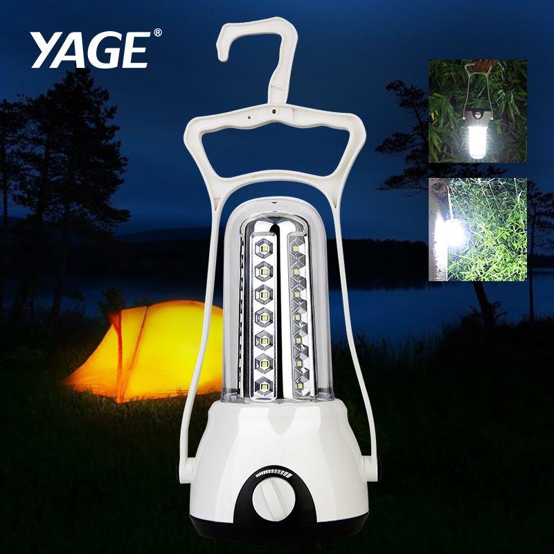 YAGE lumière transférable Projecteur En Plein Air lanterne portative 3500 mAh led Rechargeable Lampe de Travail Lampe lanterne de camping led Spotlight