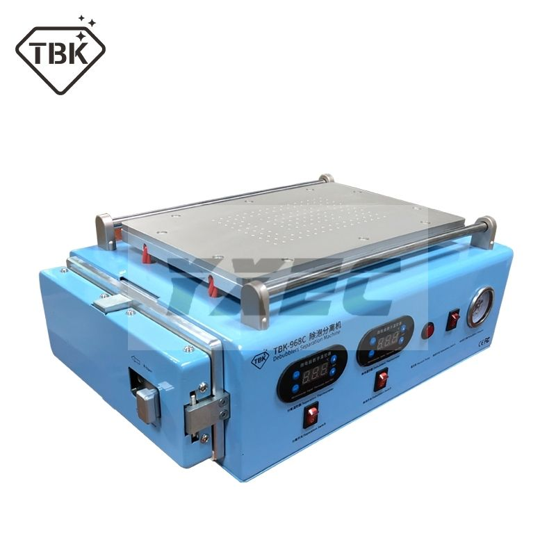 Bulit-in vakuumpumpe LCD Screen Separate OCA Autoklav Blase Entfernen Maschine für ipad Gebogene bildschirm reparatur in 2019