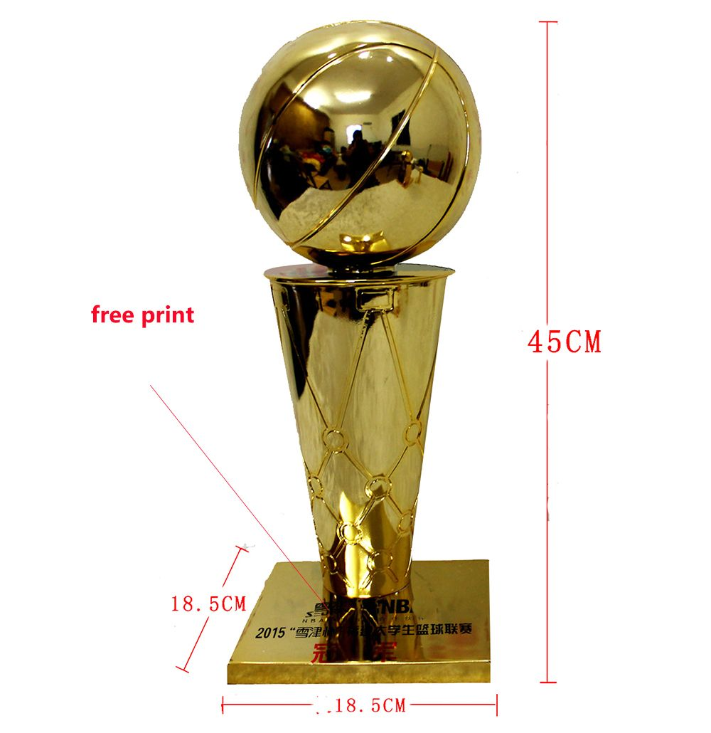Ларри О 'Брайен Баскетбол трофей MBA Национальный Баскетбол трофей Чемпионата 45 см