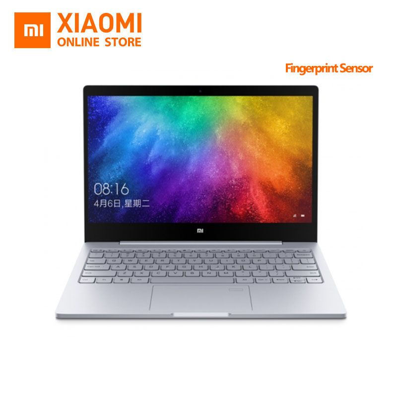 Updated Xiaomi Mi Laptop Notebook Air Fingerprint Recognition Intel Core i5-7200U CPU 8GB DDR4 RAM 13.3inch display Windows 10