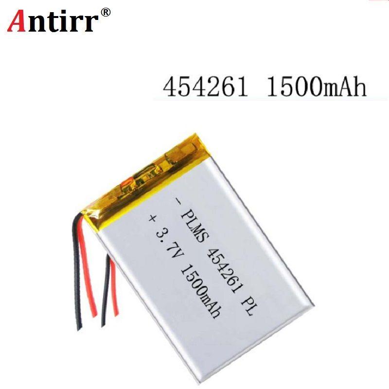 3,7 V 1500 mAh 454261 Lithium-Polymer Li-Po li-ionen-akku zellen Für Mp3 MP4 MP5 GPS PSP mobile bluetooth