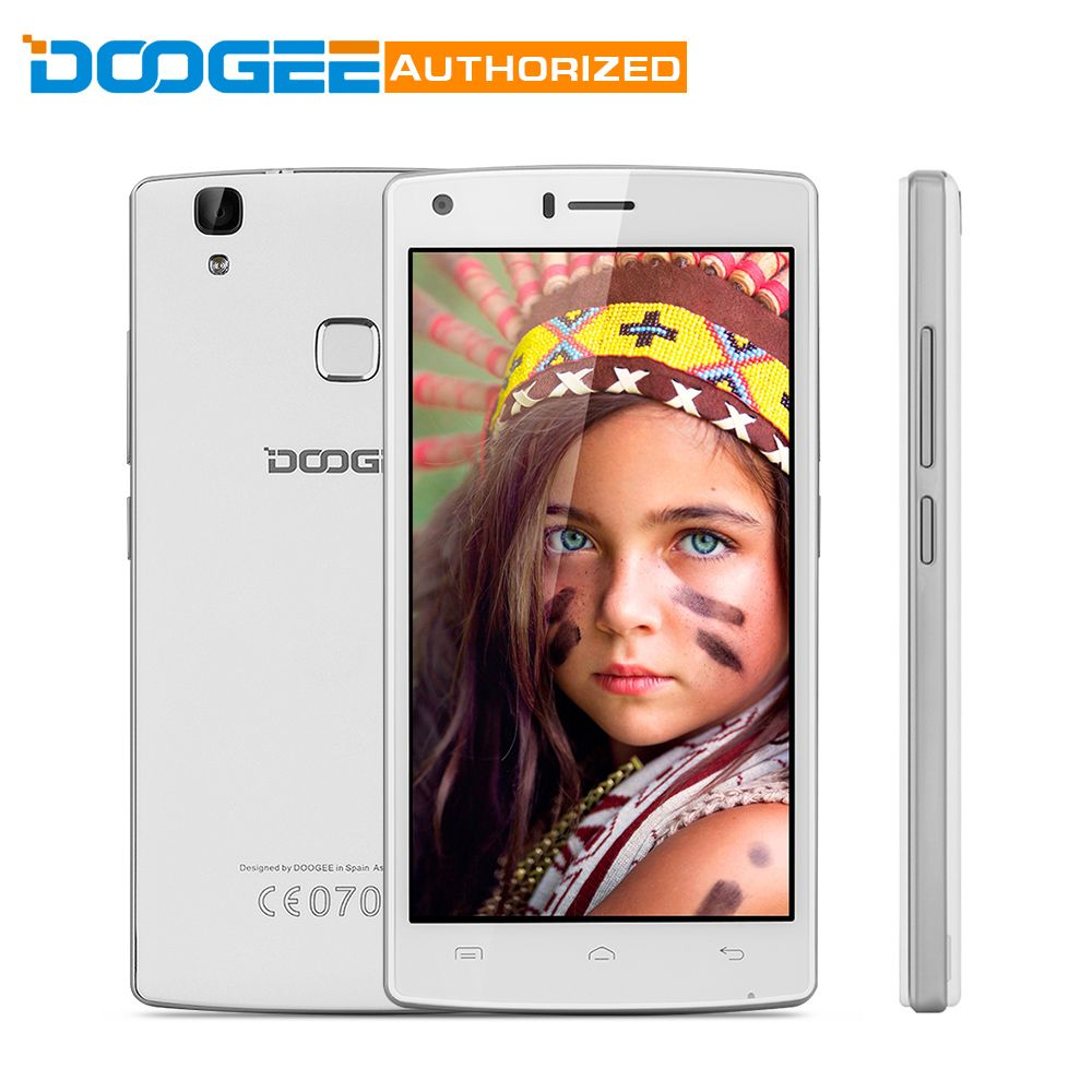 DOOGEE X5 MAX Pro 5.0 inch 4G Smartphone Android 6.0 4000MAh MTK6737 Quad Core 1.3GHz 2GB RAM 16GB ROM Fingerprint Sensor
