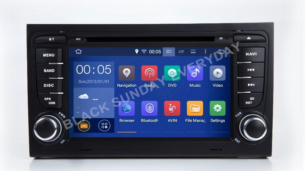 2018 2 Din 7'' NEW HD Octa Core Android 8.0 Radio Car DVD Player for Audi A4 B6 A4 B7 S4 B7 S4 B6 RS4 RS4 B7 SEAT Exeo 2008-2012