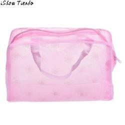 Cosmétique sac Femmes Portable maquillage sacs Cosmétique De Toilette Wash Voyage Brosse À Dents Poche Organisateur Sac maleta de maquiagem #0