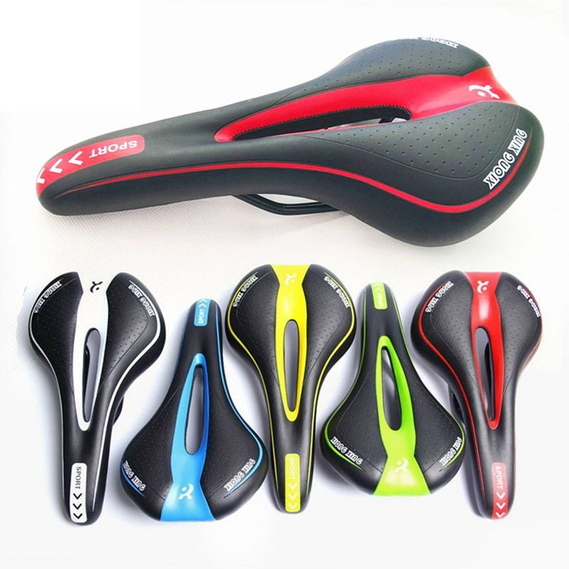 Bicycle Saddle Gel Comfortable Streamlined Sponge Cushion Pad Bike Cycling Soft Seat Cover PA0093