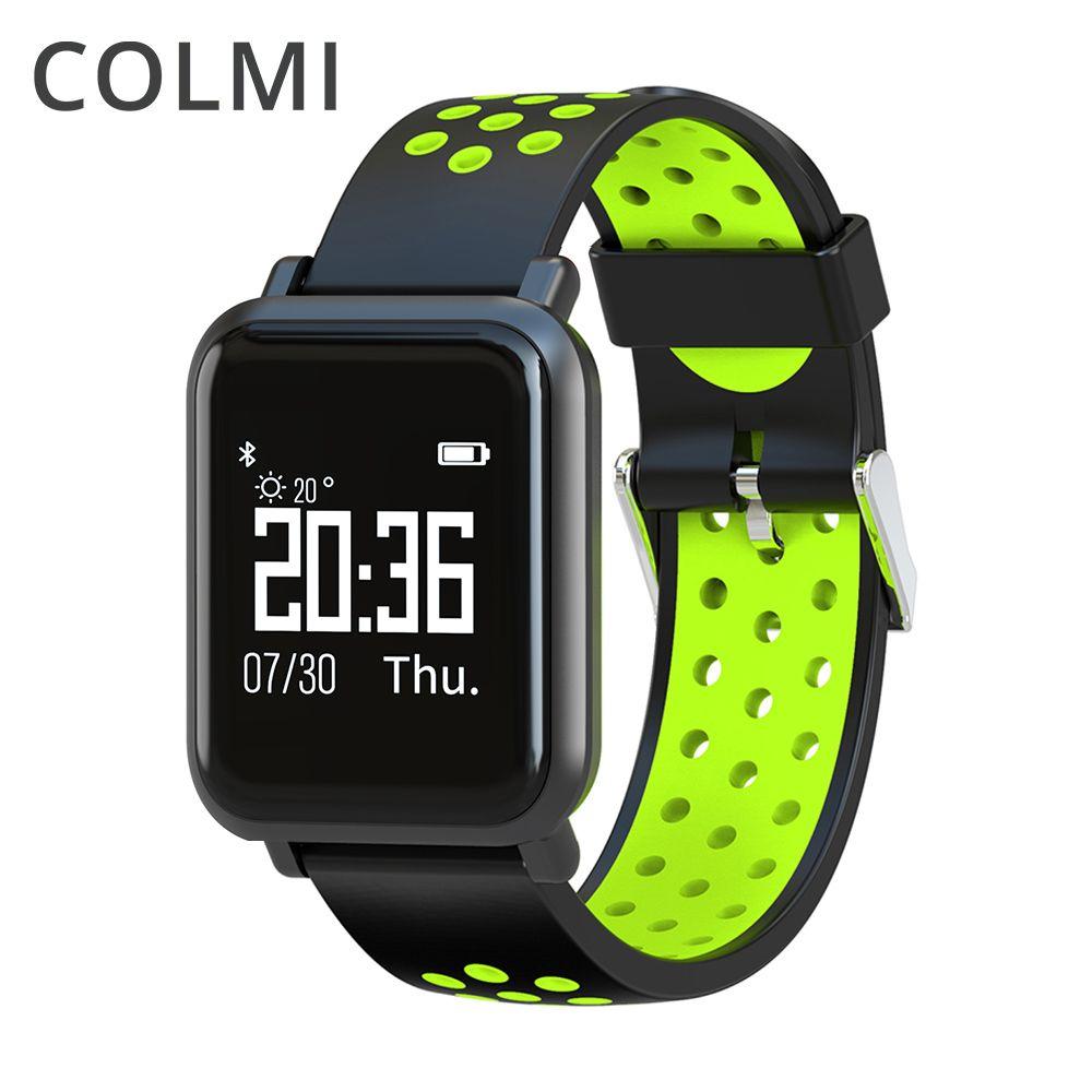 COLMI Smartwatch S9 2.5D OLED Screen Gorilla Glass Blood oxygen Blood pressure BRIM <font><b>IP68</b></font> Waterproof Activity Tracker Smart Watch
