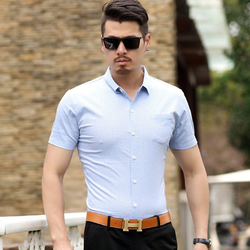 The 2018 classic men's fashion style men's T-shirt
