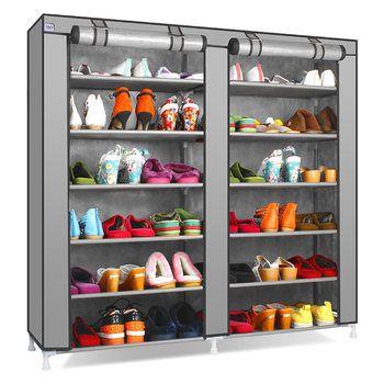 Двойной ряд 9 ячеек нетканые ткани простой и практичный пыли полки мульти-функциональный обуви шкафа сделано в германии