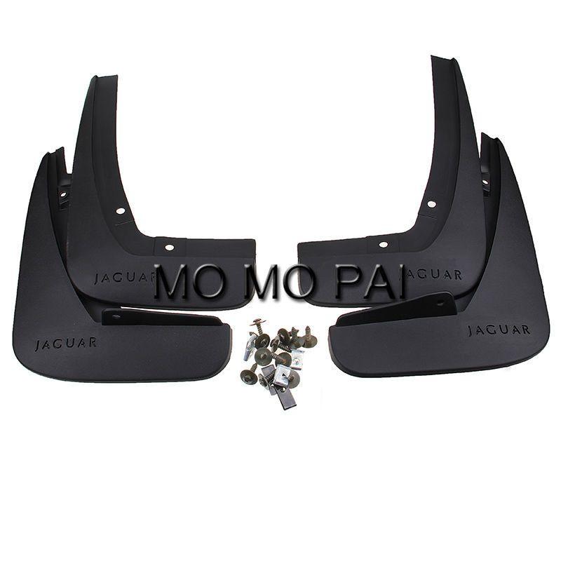 Front + Rear Mud Flaps Splash Guards fit For Jaguar XF 2010 2011 2012 2013 2014 2015 mudguard 4pcs / Set MO MO PAI Free Shipping