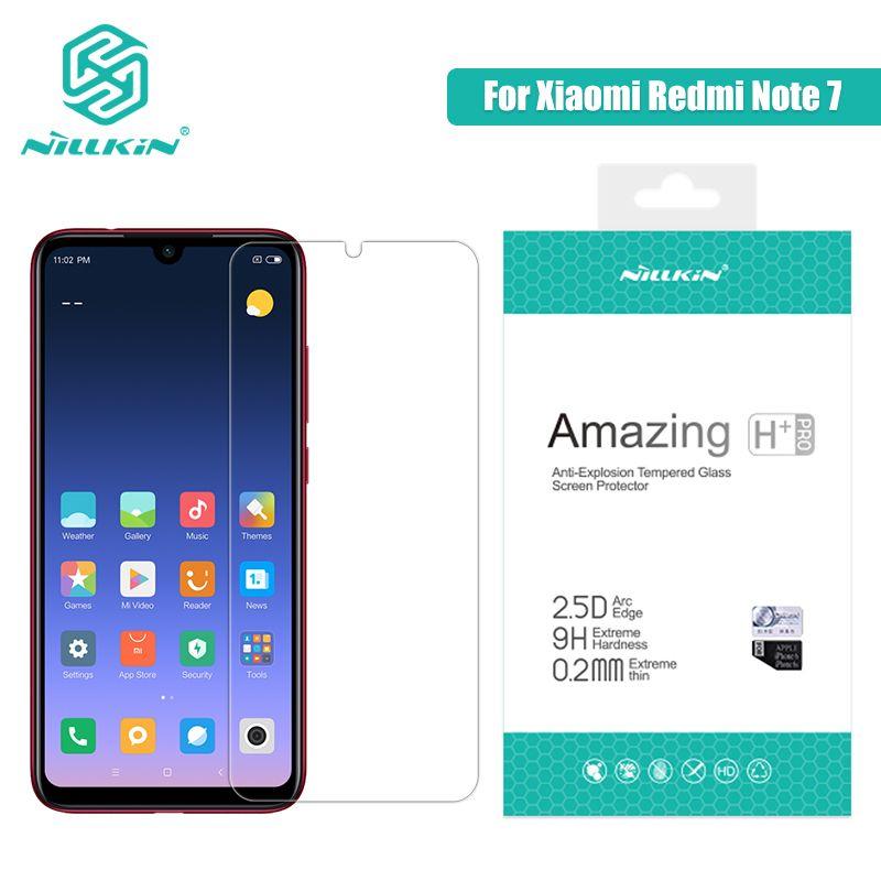 Redmi Note 7 Glass Screen Protector 6.3'' NILLKIN Amazing H/H+PRO 9H Tempered Glass for xiaomi redmi note 7 pro Redmi Note 7s