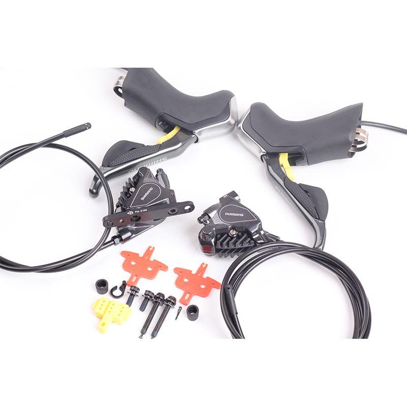 Shimano Elektronische Di2 Hydraulische Scheiben Bremse Rennrad ST R785 Di2 Shifter Bremshebel & BR R785 RS805 ICE-TECH 1000 /1700mm