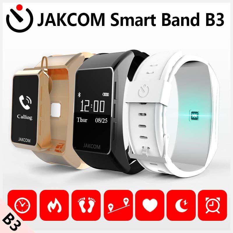 Jakcom B3 bande intelligente nouveau produit de Bracelet comme moniteur de fréquence cardiaque montre pour Xiao mi bande 2 Bracelet Talkband