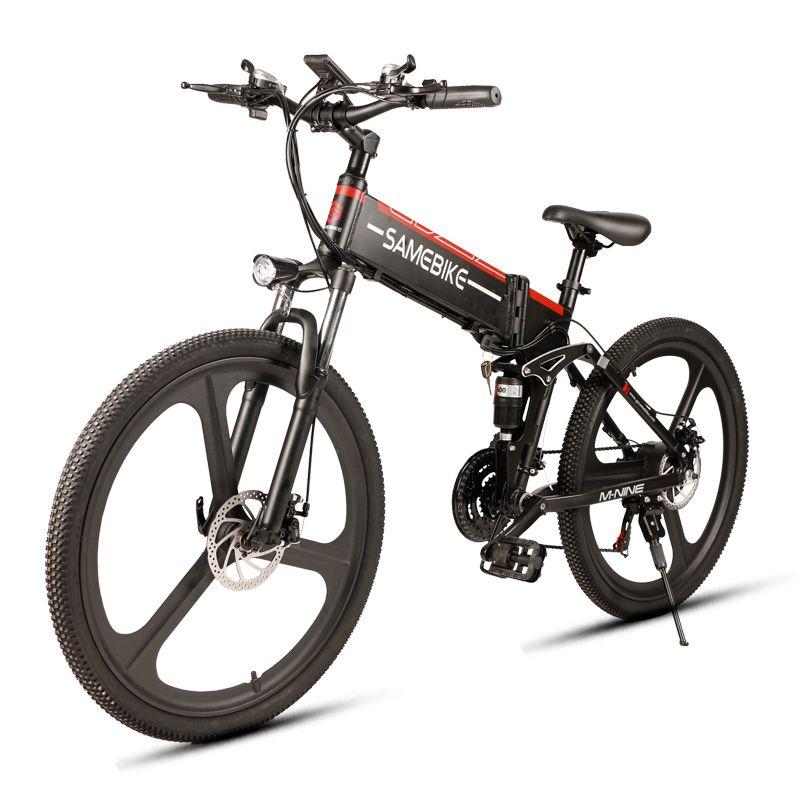 SAMEBIKE LO26 Intelligente Klapp Elektrische Bike LCD Display 26