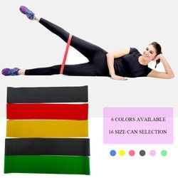 Yoga rubber resistance bands gum for fitness equipment exercise band workout pull rope stretch training pilates elastic expander