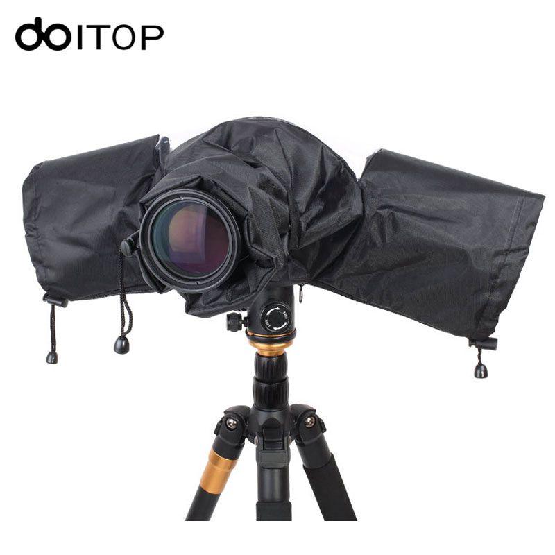 DOITOP Portable Étanche À La Pluie Protecteur DSLR Téléobjectif Caméra Housse De Pluie Antipoussière Caméra Imperméable pour Canon Nikon Pendax Sony