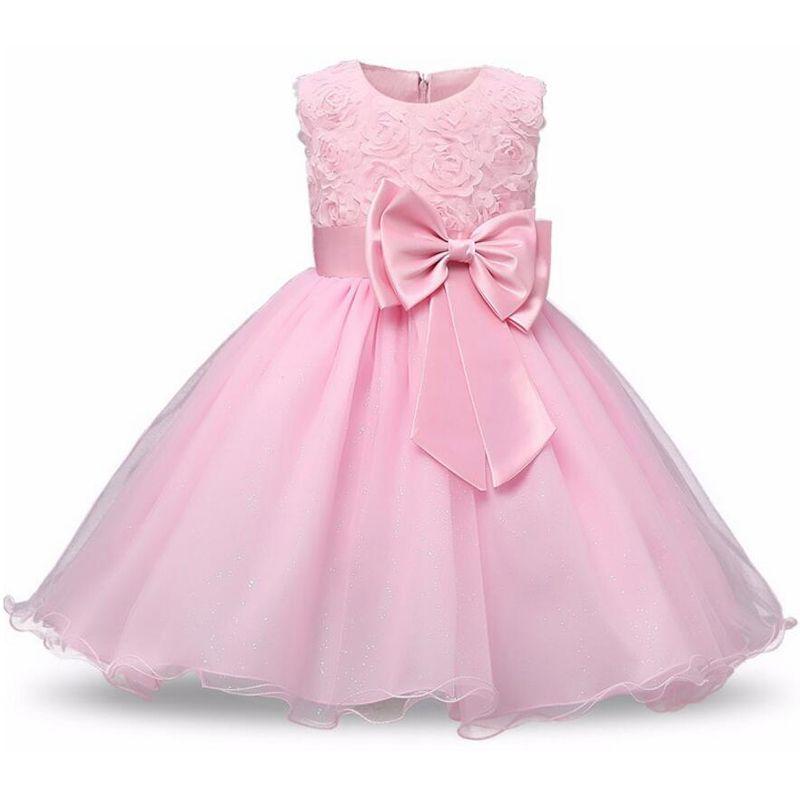 2019 printemps filles robe infantile fête robe de mariée pour filles enfants Costumes Tutu princesse robes enfants vêtements 2 10 12 ans