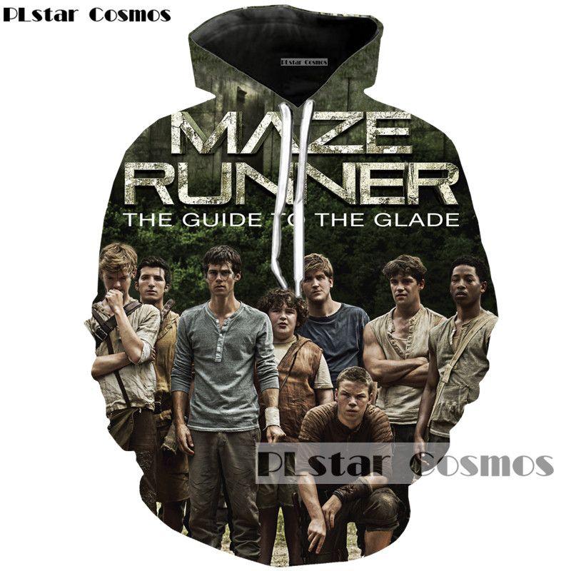 PLstar Cosmos brand Movie The Maze Runner 3d printed hoodies loose thin hoodie men/women fashion casual sweatshirt Cool Tops