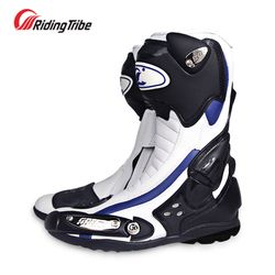 Nueva motocicleta caliente botas SPEED BIKER BOOT Racing zapatos riding tribe motocicleta montar Moto arranque bato Motocross botas