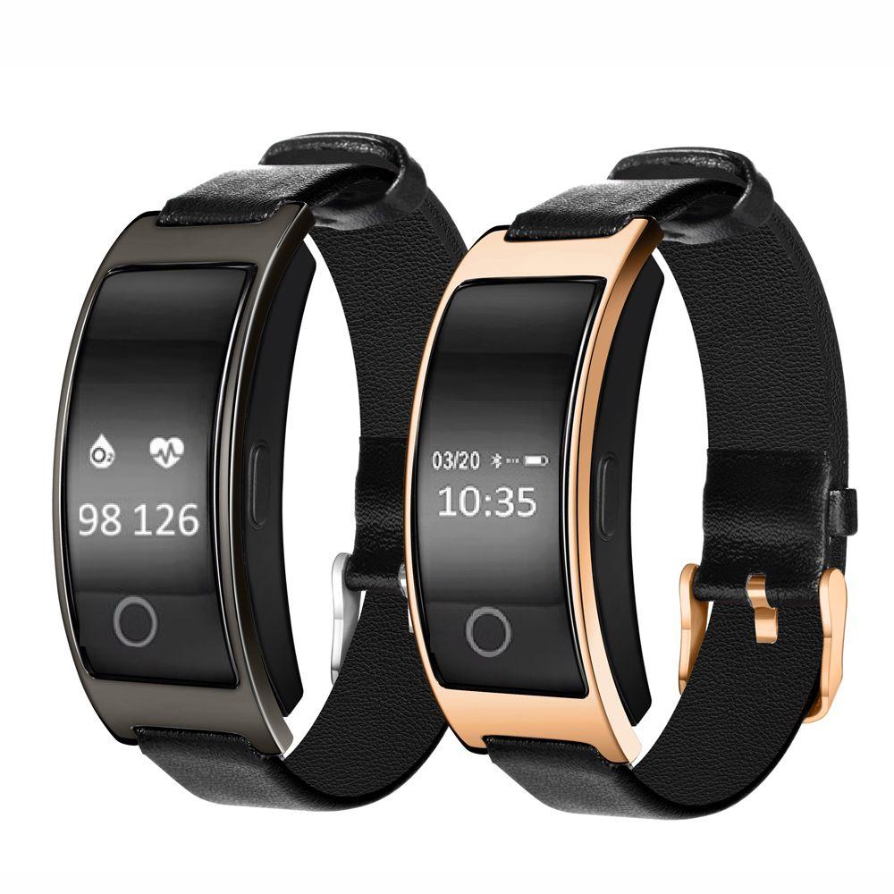Bluetooth montre intelligente CK11S Bracelet bande tension artérielle moniteur de fréquence cardiaque podomètre Fitness Smartwatch pour IOS Android téléphone