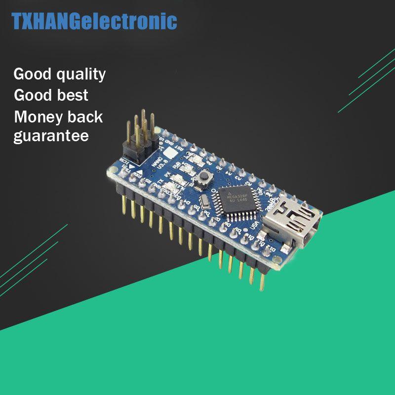 Nano V3.0 Mini USB ATmega328 5 V 16 M 100% ORIGINAL FT232RL Pour Arduino Nano
