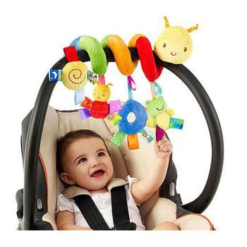 Детская коляска для новорожденных игрушки прекрасная Улитка модель кровать висячая обучающая погремушка WJ414