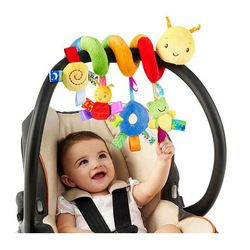 Newborn Baby Stroller Toys Lovely Snail Model  Bed Hanging  Educational  Rattle  WJ414