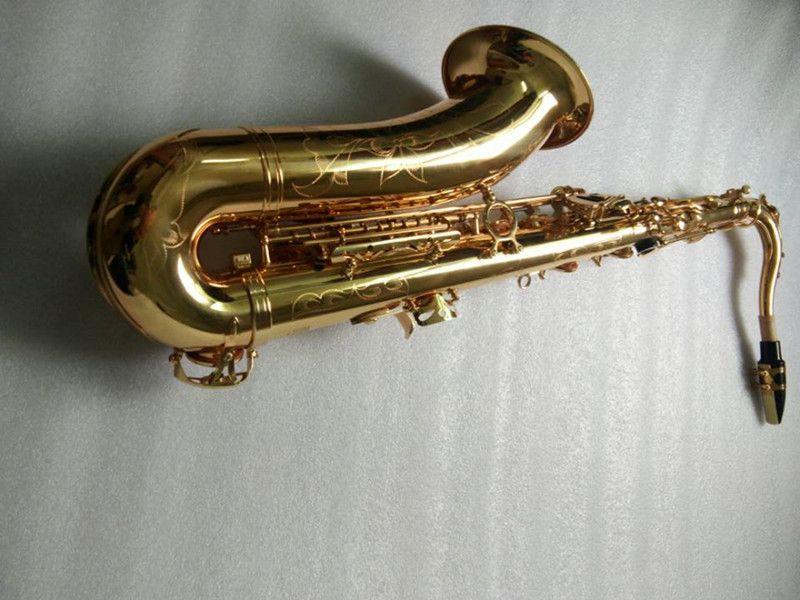Tenor Mark VI Saxophon Tenor Sax Musical Instruments Professionelle Tenor Sax Gold Lack Mundstück Schilf Neck Tenor Freies