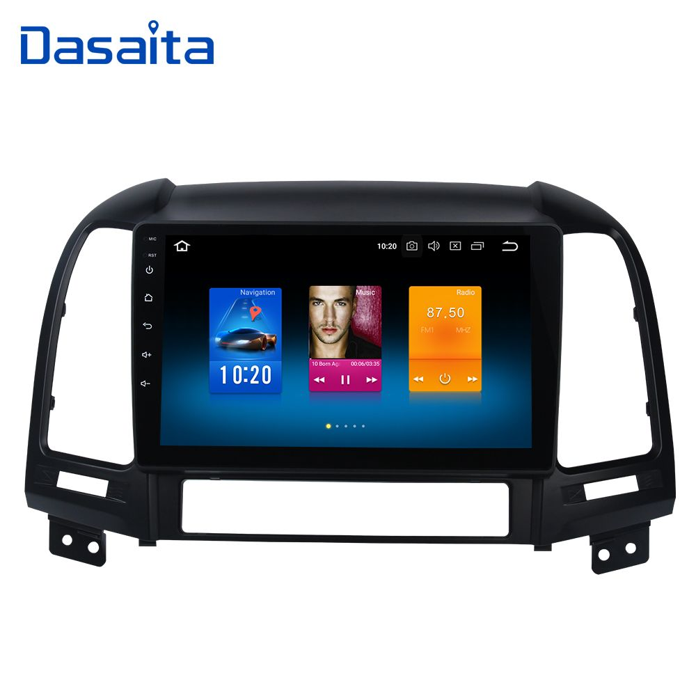 Android 8.0 Car Multimedia for Hyundai Santa Fe GPS Navigation 2006 2007 2008 2009 2010 2011 9