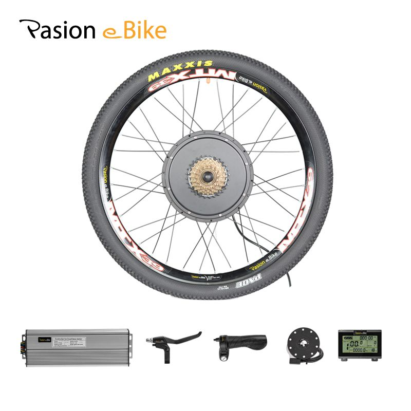 PASION E Bike Kit 48V 1000W Motor Electric Bicycle Conversion kit Rear Wheel Motor MTB Electric Bike Kit 1000W Motor Wheel