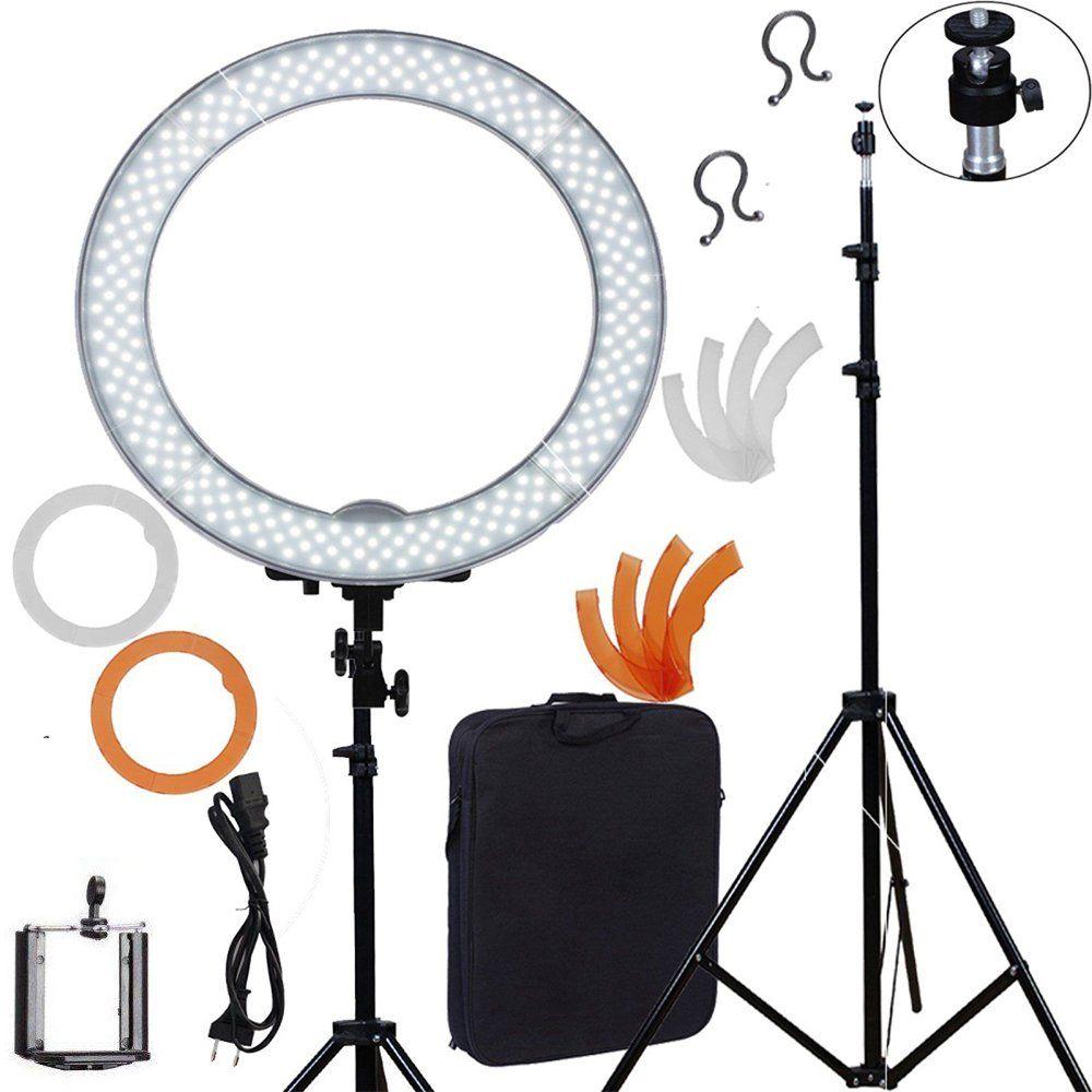 Meking LED Ring Light For Camera Photo/Studio/Phone/Video 18