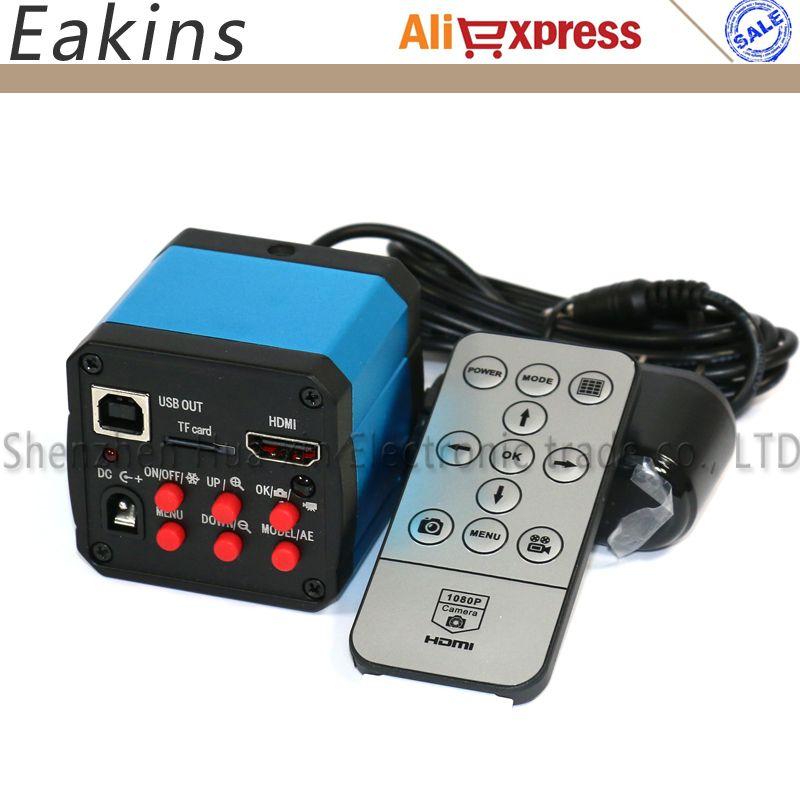 14MP HD 720P HDMI USB Digital Industry Video Inspection Microscope Camera Set TF Card Video Recorder