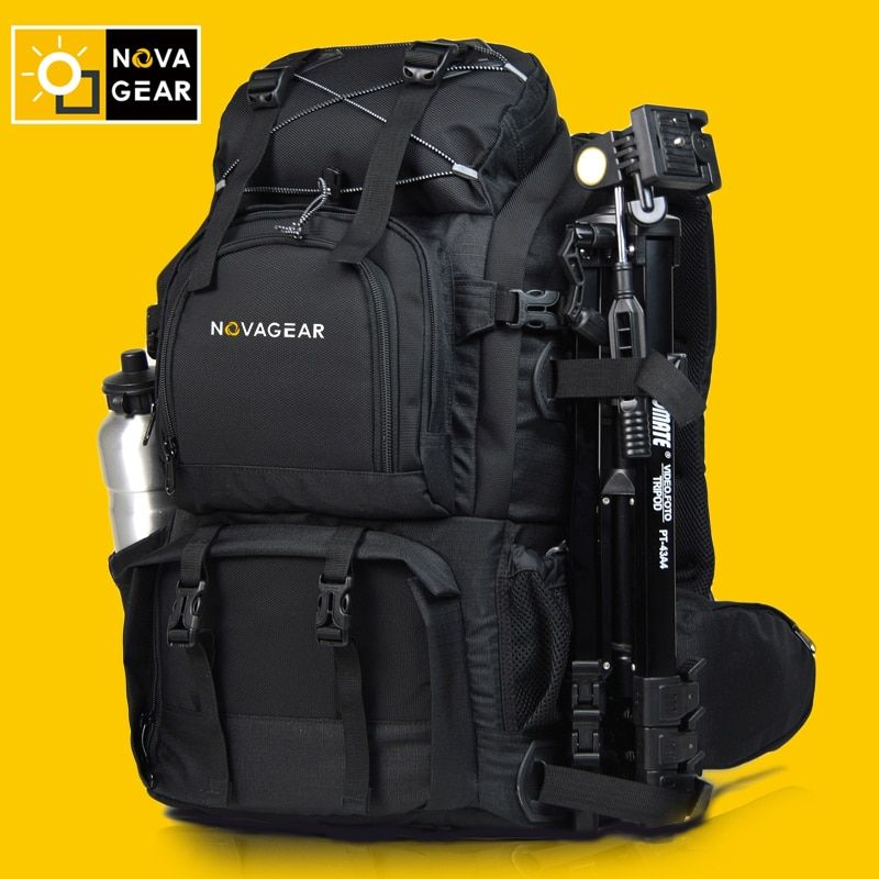 Hot sale Professional novagear double-shoulder camera bag shockproof waterproof outdoor large capacity slr camera bag