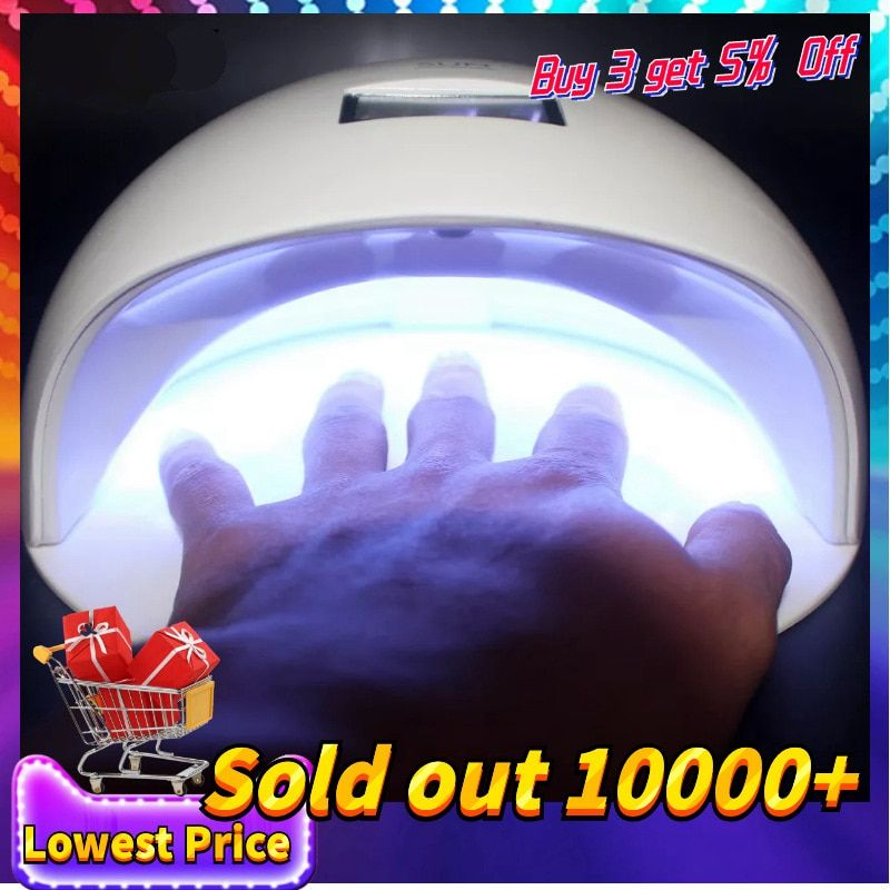 48W UV Led Lamp For Drying Gel Nail Polish Ice Lamp SUN Nail Dryer For Nail Art Tools Manicure Equipment Manicure Nail Dryer