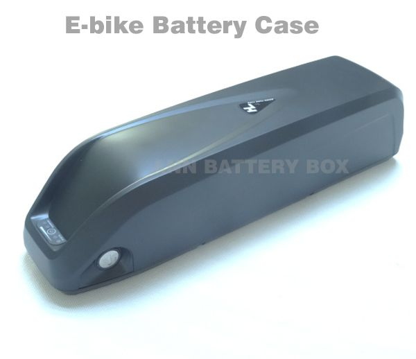 36V/48V lithium battery box E-bike battery case For DIY 36V or 48V 10Ah-15Ah li-ion battery pack With free 18650 cell holder