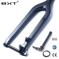 MTB Карбоновая вилка 29er Горные DH Велосипедная вилка Bicicletas жесткая горная велосипедная передняя вилка Fibre rockshox коническая через ось 15 мм