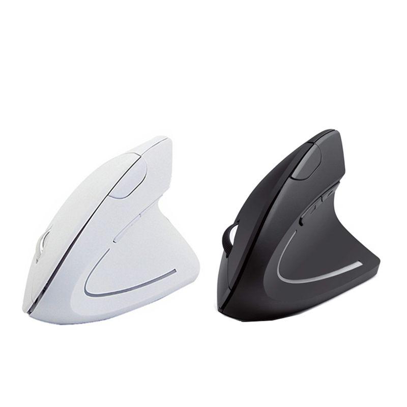 Sans fil Gaming Mouse 800/1200/1600 DPI souris vertticale ergonomique Ordinateur 3D souris optique Mause avec Tapis de Souris Pour PC Portable