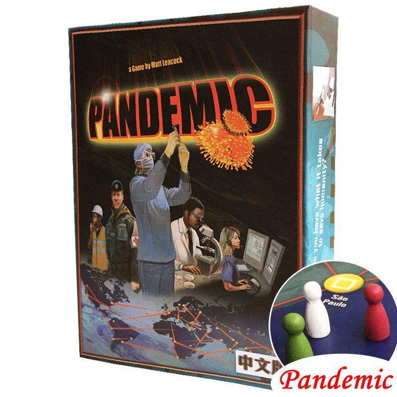 Пандемии Настольная игра Бумага карты стратегических обоснование чумы веселую вечеринку indoor настольная игра для Семья
