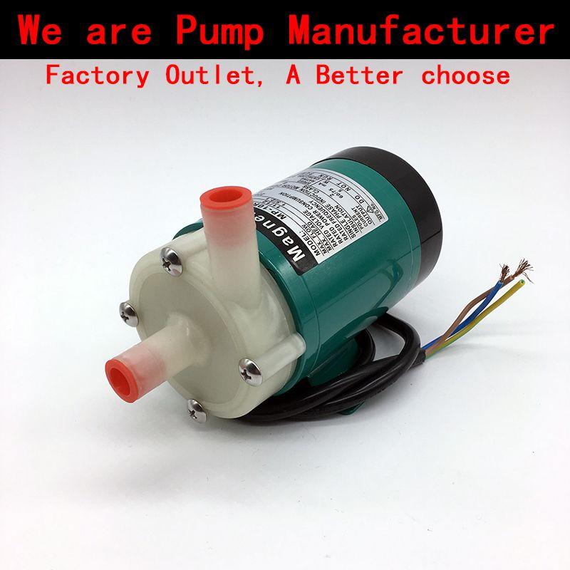 Pompe à eau 220 V MP-10RN 5 ~ 11L/min (60 HZ: 8 ~ 12L/min) pompe de Circulation à entraînement magnétique corrosion acide et alcaline