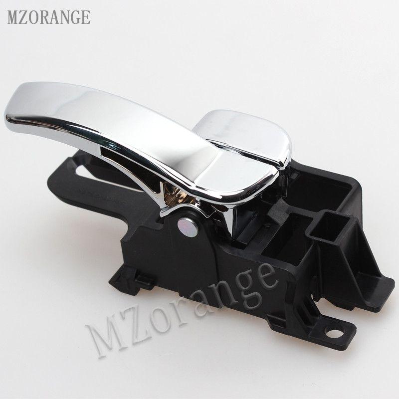 MZORANGE inner door handle Car Inside Door Handle for Nissan Qashqai J10 2008 2009 2010 2011 2012 2013 2014 2015 Left / Right