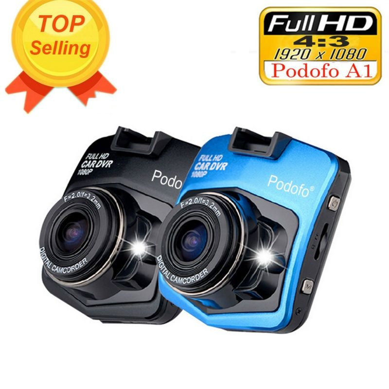 2017 New Original Podofo A1 Mini Car DVR Camera Dashcam Full HD <font><b>1080P</b></font> Video Registrator Recorder G-sensor Night Vision Dash Cam
